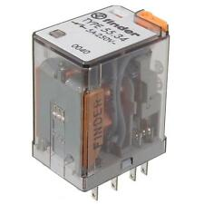 F5534.8-230 industria-relé 230v ~ 4xum 17000 Ohm 250v ~/7a Finder 55.34.8.230