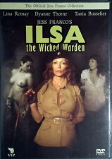 GRETA LA DONNA BESTIA ILSA THE WICKED WARDEN - Franco DVD Thorne Romay OOP