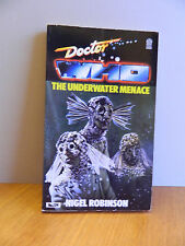 DR WHO BOOKS : THE UNDERWATER MENACE