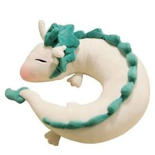 Spirited Away White Dragon Haku Animal U-Shape Neck Pillow Soft Plush Doll Toy