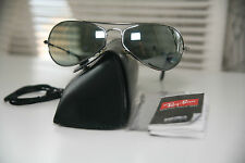 Genuine B&L Ray Ban w2613 Yuas Chrome G15 Vintage Sunglass Boss Aviator