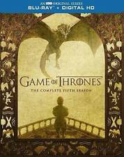 Game of Thrones: The Complete Fifth Season (Blu-ray Disc, 2016, 4-Disc Set)*NEW*