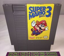 Super Mario Bros. 3 - Nintendo NES Game - Cleaned & Tested - 30 DAY WARRANTY !!