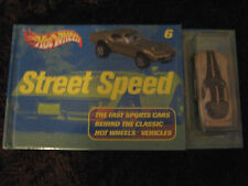 Hot Wheels - Book - Street Speed - #6 - The Fast Sports Cars