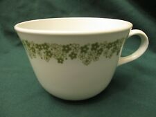 CORELLE GREEN CRAZY DAISY SPRING BLOSSOM PATTERN TEA COFFEE CUP