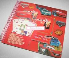 Scrapbook W/ 65 Stickers Arts & Crafts Hobby (Cars Design)