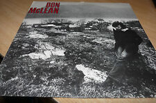 DON McLEAN - SELF TITLED - 1972 AMERICAN ISSUE TEXTURED SLEEVE - SILLY CHEAP!