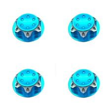 4pc Aluminium Wheel Hub Cover Antidust Cover 17mm HEX Nut For RC 1:8 Model Car U