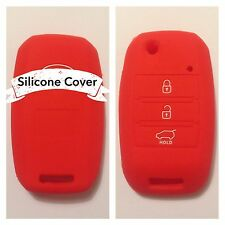 RED CAR KEY COVER CASE Rio Sorento Sportage Picanto Soul Amanti Forte K3 FOR KIA