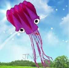 [ ONLY ONE ] 5M HUGE FLYING OCTOPUS PARAFOIL KITE OUTDOOR PARK BEACH FUN CHEAP