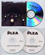 THE PLEA The Dreamers Stadium 11-trk promo CD + 2 bonus discs