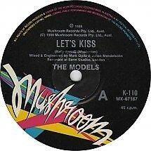 "Models ""Let's Kiss"" Terrific (James Freud) Oz 7"""