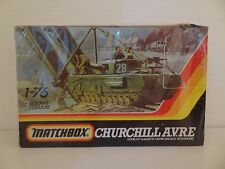 Matchbox Churchill AVRE 1/76 #PK-177 3 Colour Kit 1980's FACTORY SHRINK WRAPPED