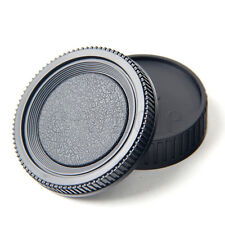 Camera Rear Lens Cap Cover + Camera Body Cap Cover for Minolta MD Mount DSLR TW