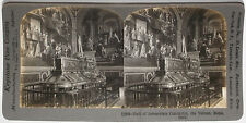 Keystone Stereoview Hall of Immaculate Conception,ITALY from a 1900s 72 Card Set