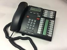 NORTEL NORSTAR T7316E CHARCOAL DISPLAY SPEAKER TELEPHONE NT8B27