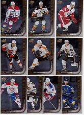 15/16 Upper Deck Shining Stars Winger Set Lot of (10) #31-40 Ovechkin Gaudreau +