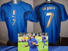Italy Italia Shirt Puma Adult XL Del Piero Soccer Football Jersey 3* Vintage Top