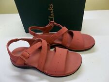 New Clarks Springer, Dusty Rose Sandal Size 9-1/2W