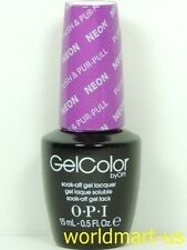 OPI GelColor Soak Off : GC N37- Push & Pur-Pull / NEON Collection