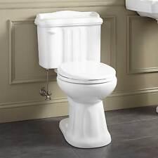 Signature Hardware Madden 2 Piece Round Siphonic Toilet