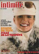 Revue Intimité N°1728 décembre 1978 2 romans-photo complets   tricot