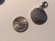 Tag Inspire Believe Origami Owl Style Dangle Live Laugh love Mother's Day  Mom