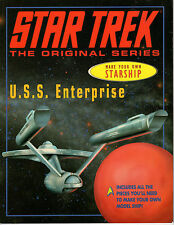 Star Trek Classic Make Your Own Starship Enterprise Book paper model kit