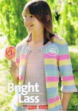 BRIGHT LASS Amanda Jones knitting pattern from magazine - childs mock two-piece