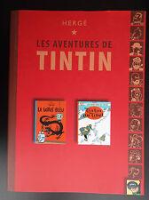 Double album Les aventures de Tintin Club Lotus Bleu Et Tibet TBE 2007