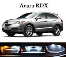 Xenon White License Plate / Tag 168 LED light bulbs for Acura RDX (2 Pcs)