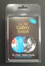 Push Button Hooks - The Gallery System - Picture Hanging Systems - GBLPBHOOP
