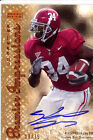ken darby rc rookie draft auto autograph alabama crimson tide college #/75 2007
