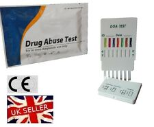 2 x DRUG TESTING/TEST KITS - 7 MAIN STREET DRUGS TESTED INC THC, COC, MDMA, METH