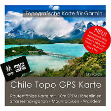 Chile Garmin Topo GPS mapa 8gb microSD Garmin Navi, PC & Mac