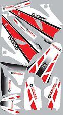2006-2009 Yamaha YZ250f 450f YZ 250f Graphics Decals Shrouds Rear fender Sticker