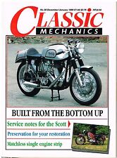 C&MCM Dec 1988 Yamaha TX500 750 Matchless G3LS engine diesel Scott service
