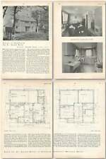 1952 House In Sheffield For Dr Harold Miller, Marianne Walter Architecture