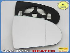 Wing Mirror Glass MITSUBISHI COLT 2004-2014 Wide Angle HEATED Right Side #JB007