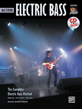 Mastering Electric Bass. Book and CD; Overthrow, David, ALFRED - 19356