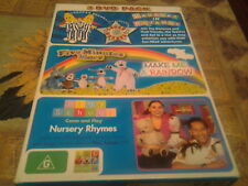 dvd childrens tv boxset bananas in pyjamas five minutes more play school region4