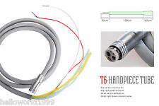 Dental 6 Holes Silicone Speed Tube Tubing Hose Connector for Handpiece Fiber