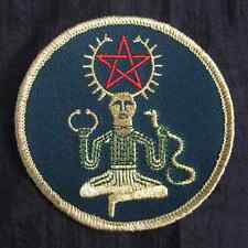 "Cernunnos Embroidered Patch 3"" Sew-On Pagan Celtic Wicca NEW"