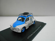 RENAULT 4CV BERLINE COMMERCIALE R 2070-1949 COLLECTION 4CV HACHETTE ELIGOR 1/43