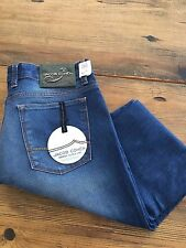 Jacob Cohen Mens Classic Straight Leg Jeans New with Tags 34x34