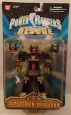 "Power Rangers Lightspeed Rescue - 6"" Supertrain Megazord Arm Pounding Bandai MOC"