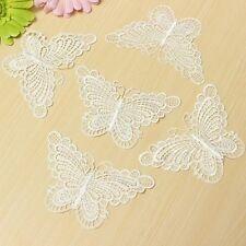 10PCS Butterfly Sewing Trims Venise Lace Applique Costume Embellishment Patches