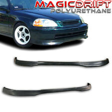 96 97 98 Honda Civic EK 2Dr 3Dr 4Dr Flexible Front PU Lip URETHANE Body Kit CTR