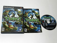 TMNT TEENAGE MUTANT NINJA TURTLES Playstation 2 PS2 Game COMPLETE - TESTED