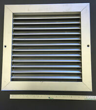 "10"" x 10"" Aluminum Return Grille - Easy Air FLow - Linear Bar Grilles"